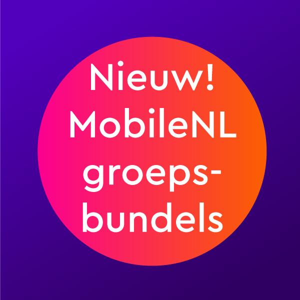 Nieuw! MobileNL groepsbundels